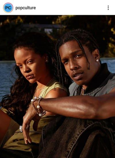 Rihanna estaría saliendo con A$AP Rocky, su amigo de toda la vida
