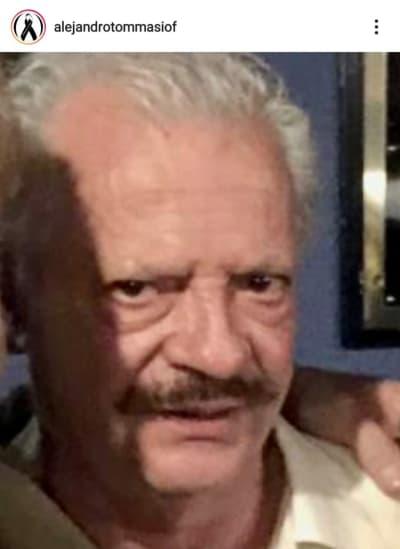 Alejandro Tommasi está de luto tras la muerte de su hermano Jorge Carlos Cázares Tommasi