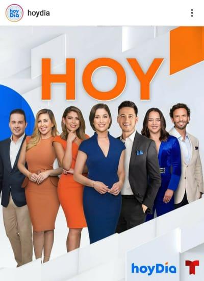 Rashel Díaz da golpe bajo a sus ex compañeros justo cuando inicia Hoy Día Despierta América Univisión