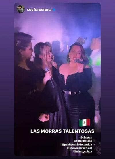 Chiquis Rivera canta en la boda de Helen Ochoa y Juan Pablo Santos y la destrozan en críticas