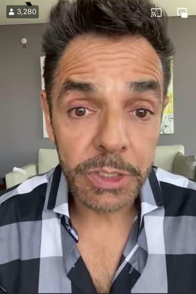 """""""Aquí estoy desde el primer día"""": Eugenio Derbez se defiende de las criticas y argumenta que él ayudó a Sammy desde el momento en que supo la noticia"""