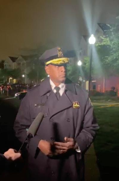 Ashlan Benedict, Jefe de la Policía de Washington (Twitter)