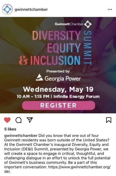 Celebran Cumbre de Diversidad, Equidad e Inclusión en Duluth, Georgia