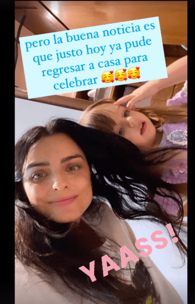 La hija de Eugenio Derbez casi arruina su celebración de las mamás