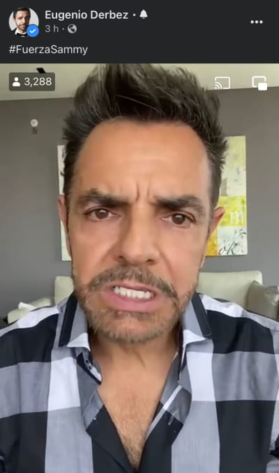 Las críticas a Eugenio Derbez ante la situación de Sammy Pérez