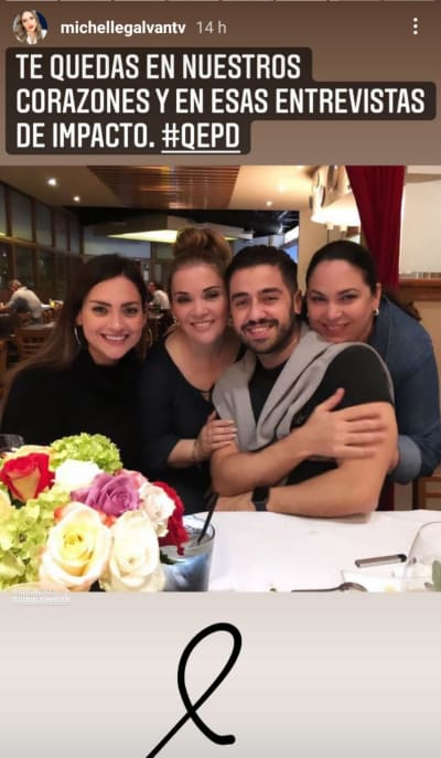 Las tristes despedidas de Michelle Galván y Pamela Silva para Lupita Elizondo Primer Impacto