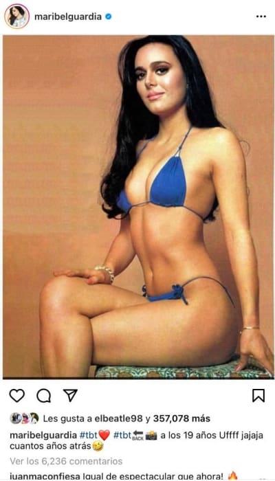 Las 10 veces que Maribel Guardia ha 'humillado' a las de 20 en bikini