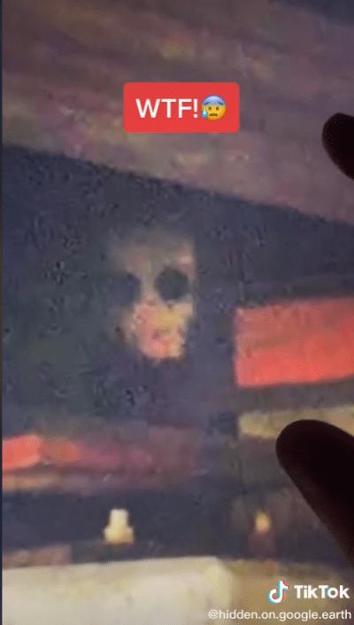 """I will never walk under a bridge again"", capture 'demonic figure' through Google Earth"