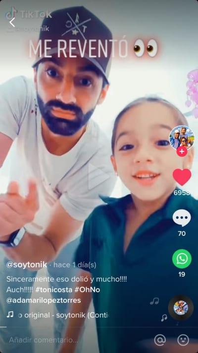Toni Costa video hija