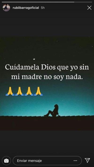 Rubí Ibarra_Historias Instagram