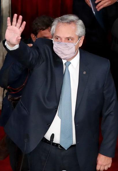 coronavirus presidente de Argentina