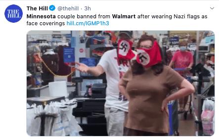 NO ENTRAN MÁS. La 'locura' que hizo una pareja en WALMART le salió tan caro que no podrá pisar más ninguna tienda (VIDEO)