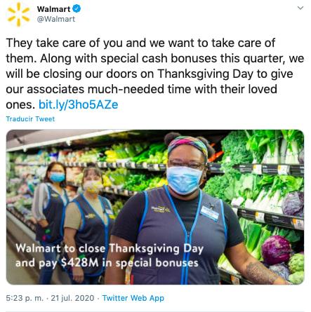 Walmart thanksgiving: cerrarán tiendas en Black Friday