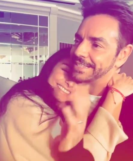 Eugenio Derbez feliz junto a su hija (Instagram)