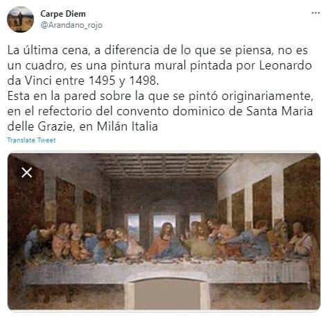 Aarón Díaz Santa Cena, Instagram