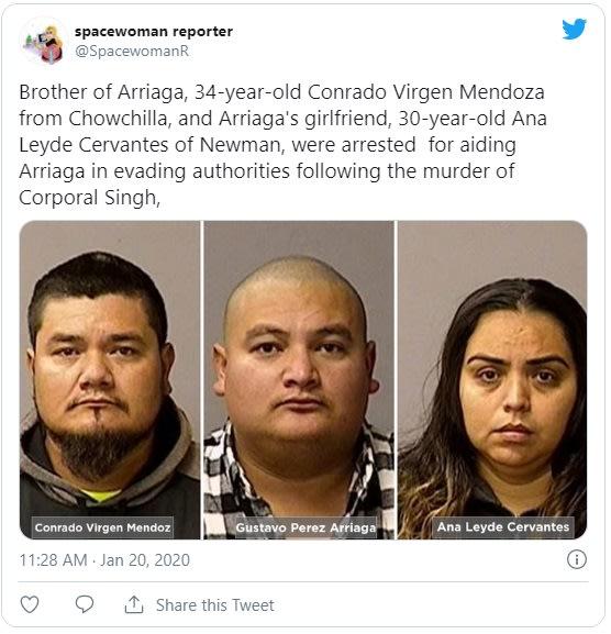 Inmigrante es condenado por ayudar a su hermano a huir a México tras asesinato
