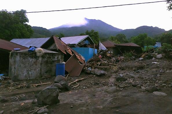 inundaciones en Indonesia