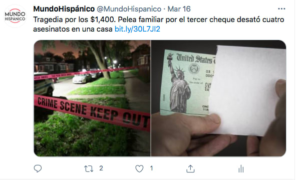 Elvin Germán cometió fraude para obtener cheques (Twitter)