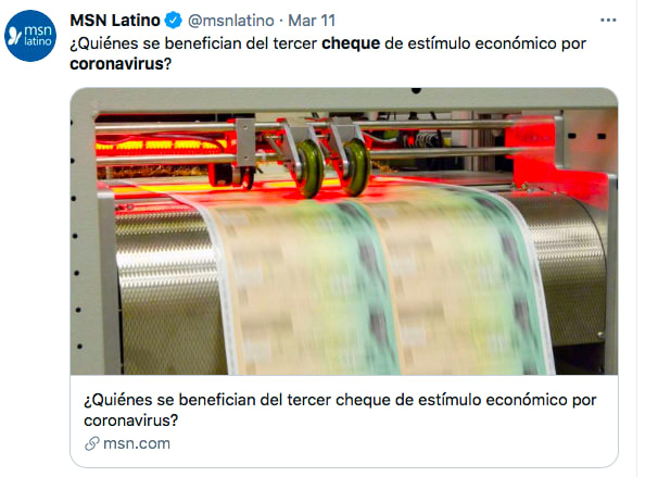 Fraude cheques (Twitter)