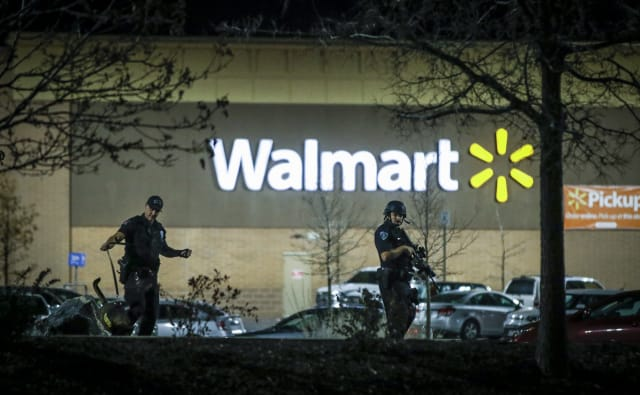 tiroteo Walmart
