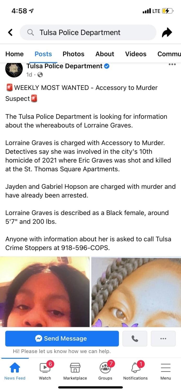 arrestaron a mujer