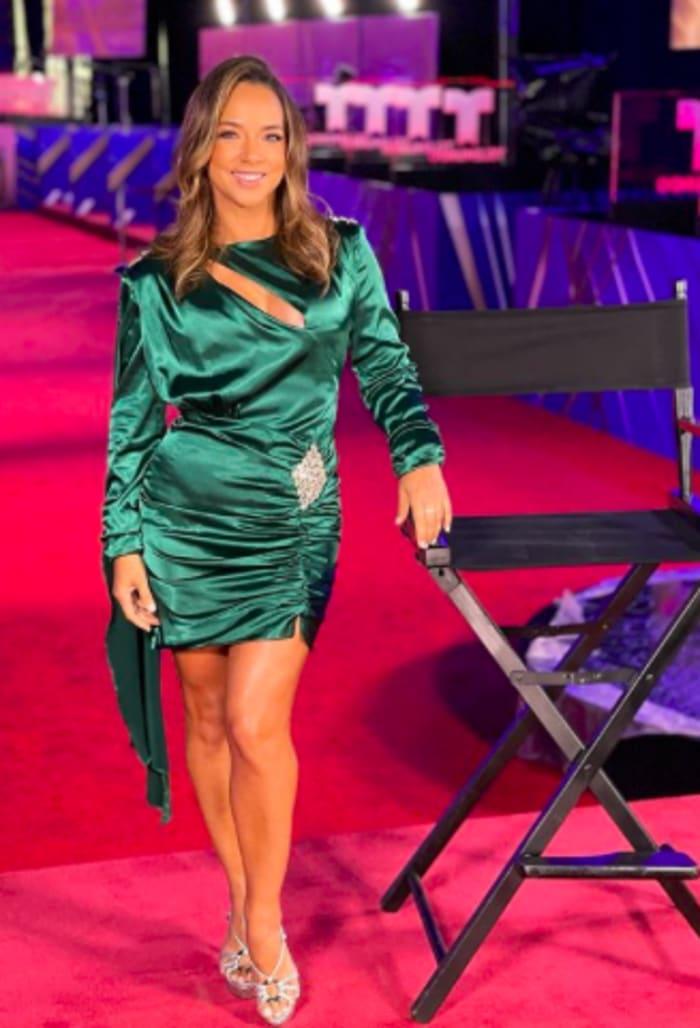 Adamari López vestido premios Billboard