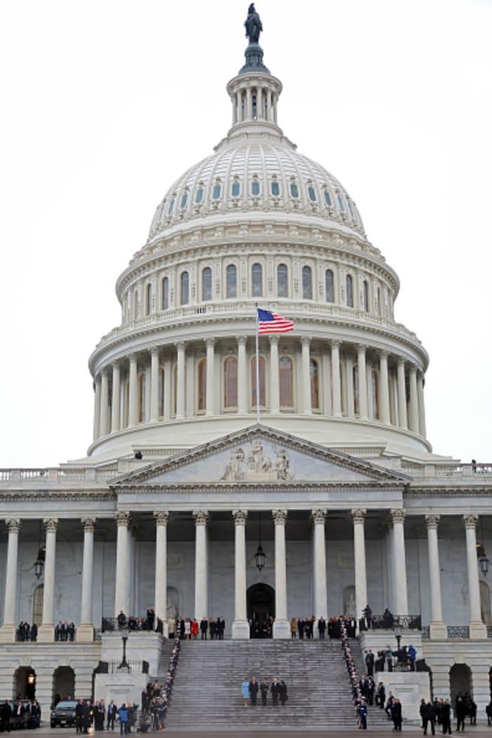 Manifestación frente al Capitolio