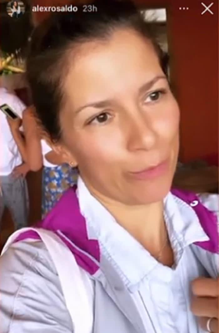 Huracán Nora le pega a Alessandra Rosaldo