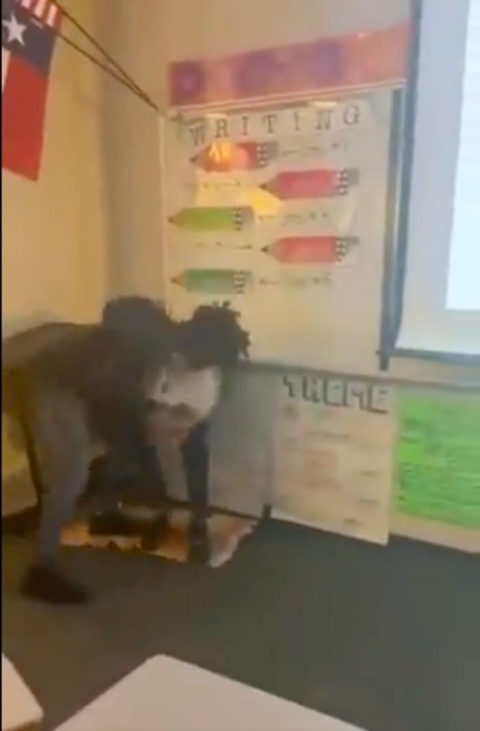 Arlington Texas escuela tiroteo videos