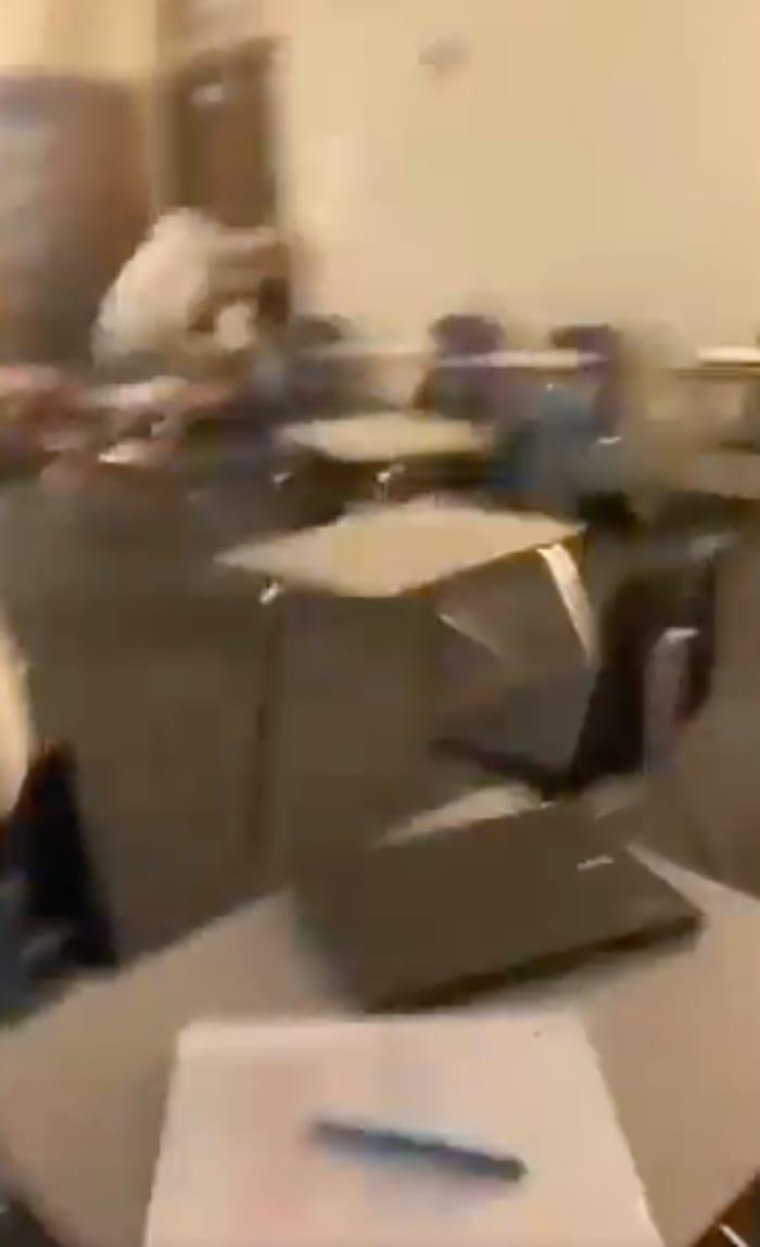 Escuela Arlington Texas tiroteo videos
