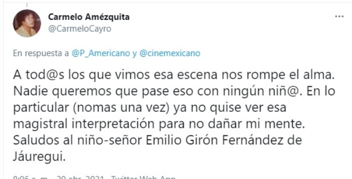 Así luce Torito Emilio Girón Fernández Pedro Infante 5