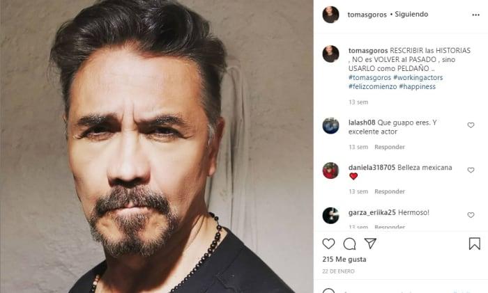 Intuban al actor Tomás Goros