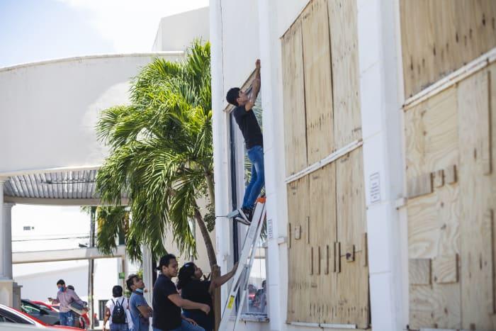 Huracán Grace en México