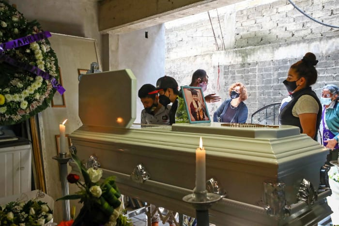 Funeral Giovanny metro