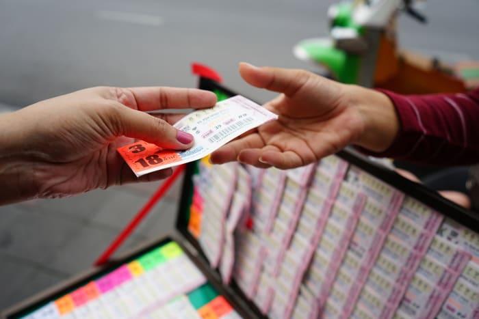 Boleto de Lotería