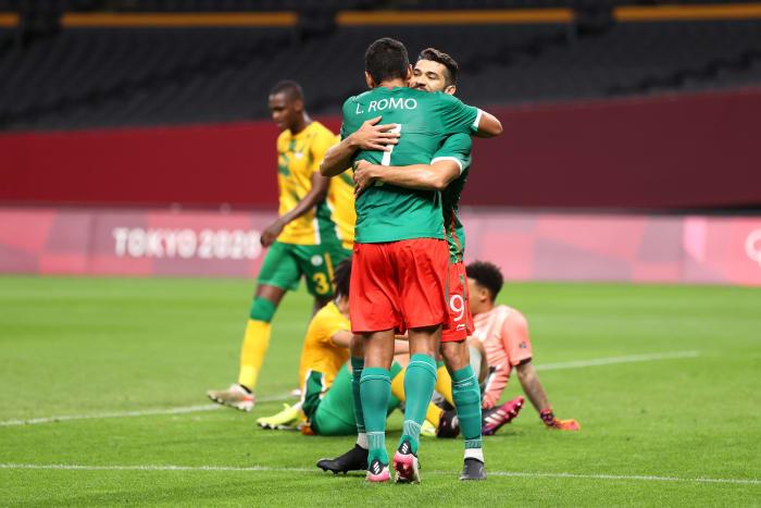 México contra Sudáfrica en Tokio