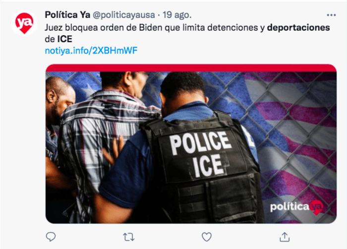 ICE Priorities: They present a document to the Supreme