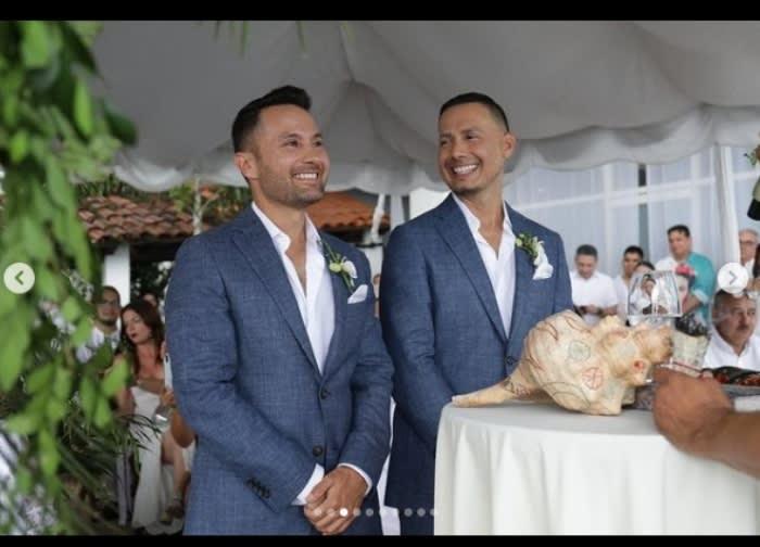 Realizan la boda en Puerto Vallarta