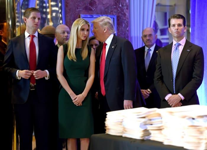 director financiero Organización Trump
