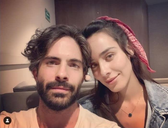 Osvaldo Benavides y Esmeralda Pimentel en La Suerte de Loli