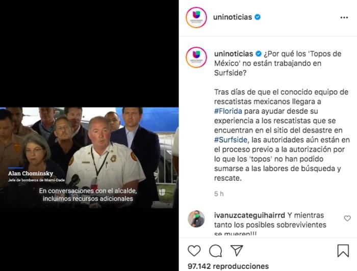 topos mexicanos edificio Miami: Autoridades dicen la verdad