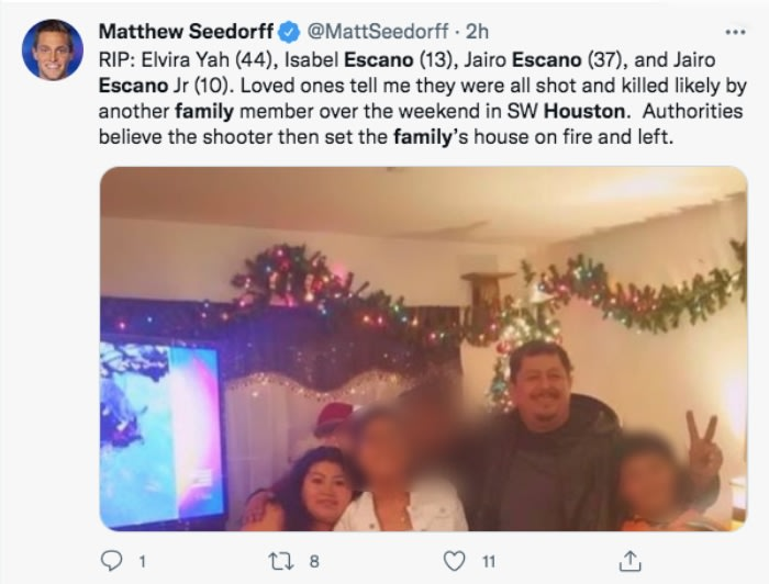 Escaño family murdered: Why did they kill the four?