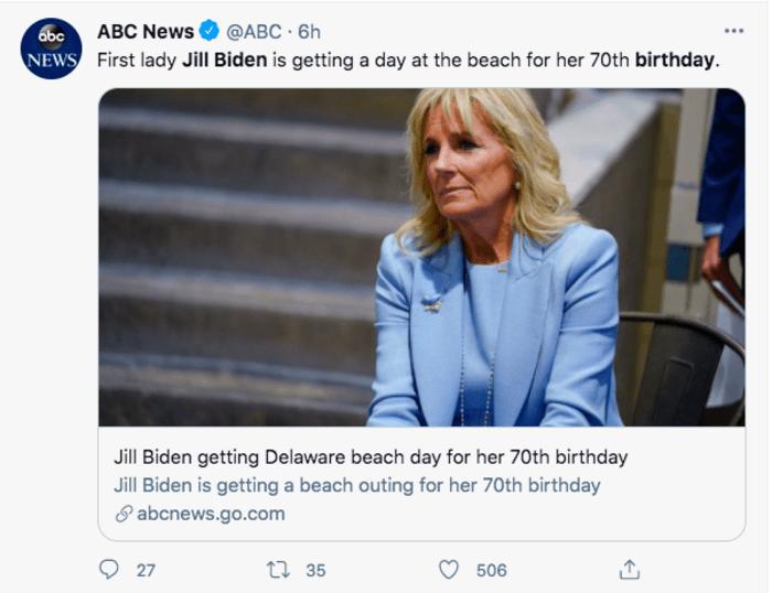 Jill Biden cumpleaños
