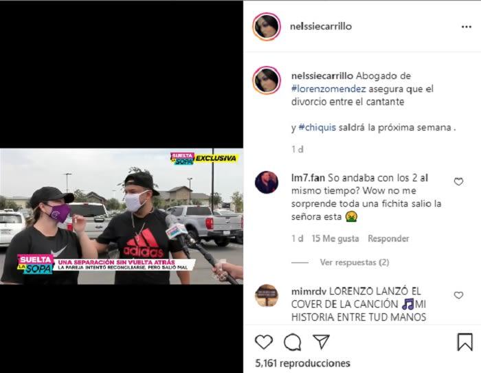 Aseguran que Chiquis Rivera y Lorenzo Méndez ya están divorciados