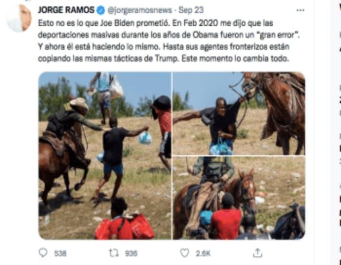 El gobierno de Joe Biden ¿aprueba violencia contra los inmigrantes?