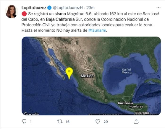 También en Baja California Sur
