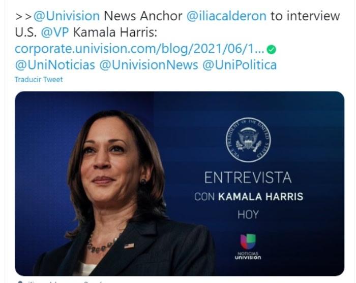 Kamala Harris migrantes Ilia Calderón 2
