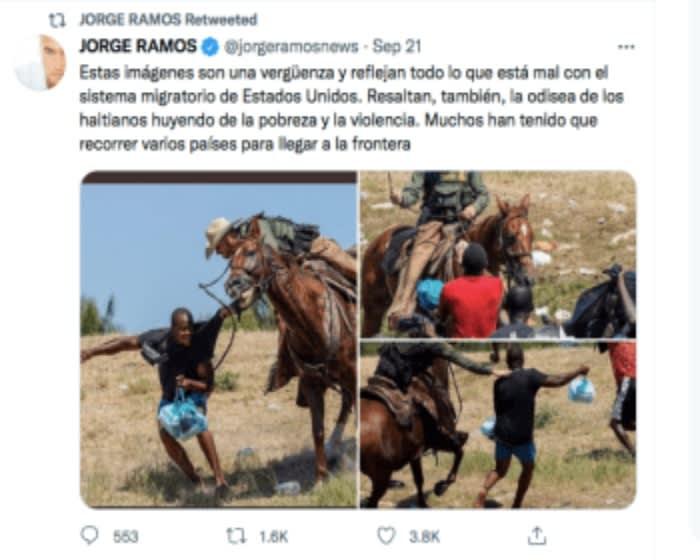 Jorge Ramos exhibe supuesta mentira que le dijo Joe Biden sobre los inmigrantes