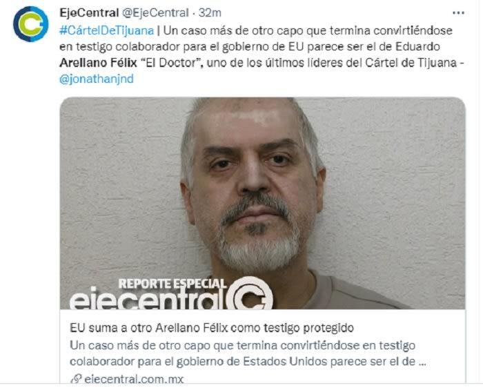El narcotraficante mexicano fue liberado