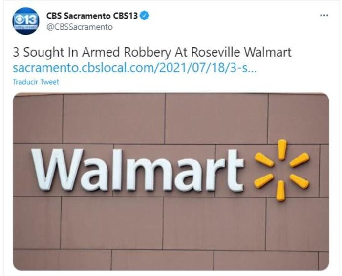 Asalto en Walmart